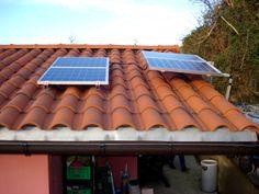Placas fotovoltaicas en el tejado