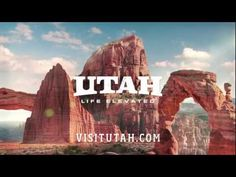 """Zion, Bryce, Capitol Reef, Canyonlands, and Arches. """"'The Mighty national parks of Utah are """"bucket"""" destinations. They are off-the-charts spectacular sites for people all over the world. Places To Travel, Places To See, Travel Destinations, St George Utah, Saint George, Utah Parks, Arizona, Visit Utah, Places"""
