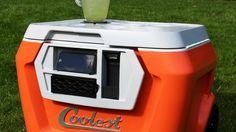 A Portland, Oregon man has raised over $4 million in a Kickstarter campaign to make the Coolest, a high tech cooler with Bluetooth speakers, a blender, a USB charger, LED lights and a bottle opener.