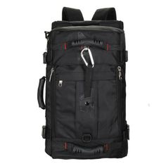 4b7b494ea2 Men s bags new nylon black backpack bags travel large capacity high grade  laptop bag fashion leisure