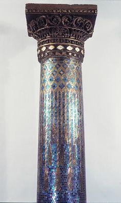 Designed by Louis Comfort Tiffany (American, 1848–1933). Column, 1905. The Metropolitan Museum of Art, New York. Purchase, The Edgar J. Kaufmann Foundation Gift, 1968 (68.184).