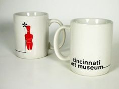 White Cycladic Logo Mug