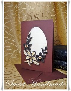 quilling easter | Easter Quilling card