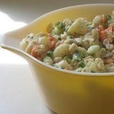 Hawaiian Potato Salad is not the simplest potato salad recipe ever, but is certainly one of the most delicious ones! It contains more vegetables...