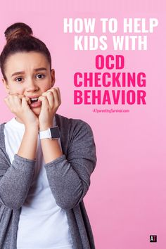 How to Help Kids with OCD Checking Behavior   AT Parenting Survival Ocd In Children, Children Health, Gentle Parenting, Parenting Advice, Types Of Ocd, People With Ocd, How To Calm Anxiety, Feeling Nauseous