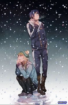 Noragami Related posts: // true XDD // // # noragami # yato # hiyori # sekki # yukine # god # anime # iki # noagamiaragoto Yukine ~ Noragami ~ Noragami ~~ Who you gonna call? :: Yato and Yukine Anime Noragami, Yatogami Noragami, Manga Anime, Art Anime, Manga Art, Anime Kiss, Awesome Anime, Anime Love, Days Manga
