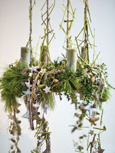 Floristik Seminare mit Gregor Lersch - All For Decoration Christmas Flowers, Natural Christmas, Christmas Holidays, Christmas Wreaths, Christmas Crafts, Beautiful Christmas, Simple Christmas, Christmas Ideas, Deco Floral