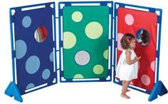 Bubble-Fun PlayPanel Set of 3 with Feet and Connector Clips