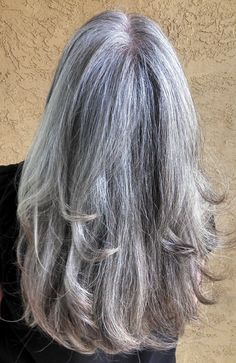Growing out the gray & loving it! 03.11.2014