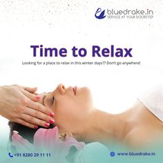 Looking for a place to relax in this winter days? 🙍 We at offer a wide range of Body Massages & Spa at the best price! Book online our services at 👉 Call 📲 Blue Drake, Body Massage Spa, Price Book, Nice Body, Books Online, Best Makeup Products, Stress, Relax, Range