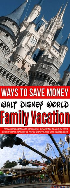 Disney World tips and tricks on a budget!! Learn how to save on a Disney family vacation by finding the best dining discounts, learning about Disney payment plans, knowing the lowest Disney World ticket prices, and much more! #disney #save #savemoney #family #familyfriendly #familyvacation #everydaysavings #disneyhacks #saveatdisney #frugal