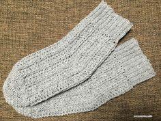 【編み図付き】履き口が伸びる引き上げ編みのソックス | かぎ針編み・無料編み図 ATELIER *mati*