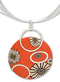 Meisha Barbee polymer clay and sterling silver