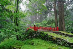 Visit the Sacred Grounds of Mt Haguro, Yamagata – Japan Info Japanese Mountains, Japan Info, Japanese Nature, Japan Summer, Fruit Picking, Sacred Mountain, Japan Image, Yamagata, Japan Travel