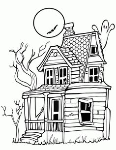 printable halloween pictures to color | 24 Free Halloween Coloring Pages for Kids