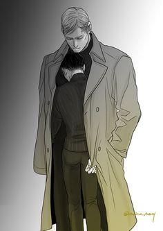 Erwin Smith / Levi   Shingeki no Kyojin