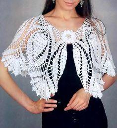 Crochet Shawls: Crochet Pattern Of Gorgeous Cape