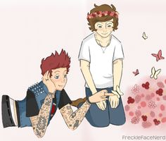 Louis Tomlinson and Harry Styles..... SOOO CUTE! *0*