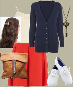 """""""School Day Casual"""" by hpbrat2 on Polyvore"""