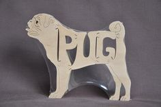 Hey, I found this really awesome Etsy listing at https://www.etsy.com/listing/48471807/pug-dog-animal-puzzle-wooden-toy-hand