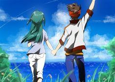 Endou x Kazemaru part 7 Stray Dogs Anime, Inazuma Eleven Go, Best Couple, Comic Strips, Kawaii, Cartoon, Manga, Comics, Evans