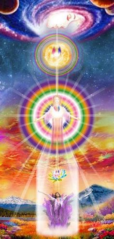 Best way to show what Astral Projection is like. Cosmic Consciousness, Ascended Masters, Astral Projection, Visionary Art, Sacred Art, Love And Light, Sacred Geometry, Mother Earth, Mystic