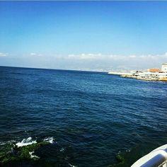 #cornichebeirut #beirut #sea #blue #livelovebeirut #livelovelebanon
