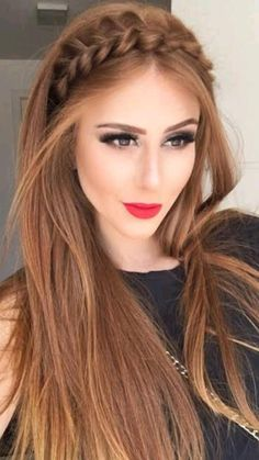 Party Hairstyles For Long Hair, Everyday Hairstyles, Easy Hairstyles, Medium Hairstyles, Celebrity Hairstyles, Beautiful Hairstyles, Office Hairstyles, Anime Hairstyles, Stylish Hairstyles
