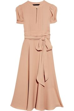 Marc by Marc Jacobs - 'Mimi' silk-crepe dress