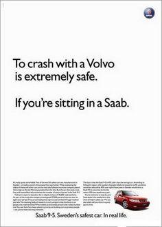 Volvo y el poder de la palabra para hacer un anuncio sin imagen (sólo la de un cochecito)
