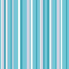 Coloroll Havana Stripe Wallpaper Teal / Grey / Silver
