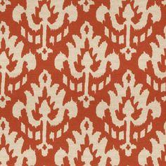 Zaida Pumpkin fabric by Vervain