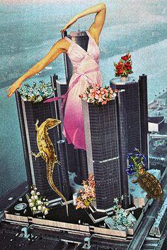 http://lespapierscolles.wordpress.com/2013/03/18/eugenia-loli/ Eugenia Loli -surrealist collage #collage #graphisme #illustration #art
