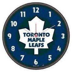 Toronto Maple Leafs wall clock