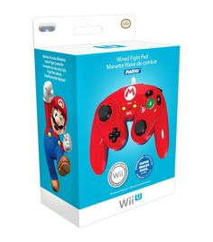 Amazon.com: PDP Wired Fight Pad for Wii U - Mario: nintendo wii u: Video Games
