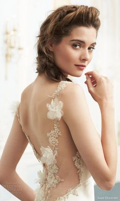Sassi Holford 2015 #Couture #Wedding Dresses — Savoy #Bridal Collection | #weddings #weddinggown #weddingdress