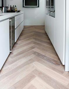 Herringbone flooring!