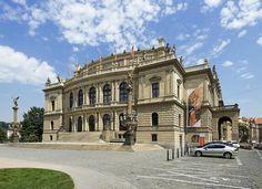 Rudolfinum (Prague) - 2020 All You Need to Know Before You Go (with Photos) - Prague, Czech Republic Online Tickets, Beautiful Buildings, Czech Republic, Old Town, Trip Advisor, Mansions, House Styles, Prague Czech, Bohemia
