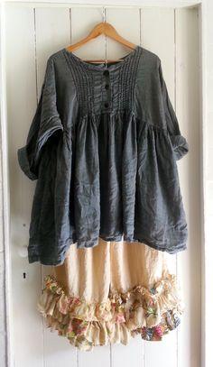 Vintage Linen Bloomers