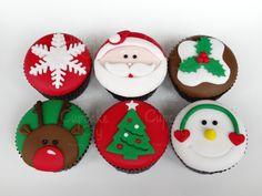 Navidad Cupcake Muffin Torta Cookie tratar Bolsas Cajas Selecciones