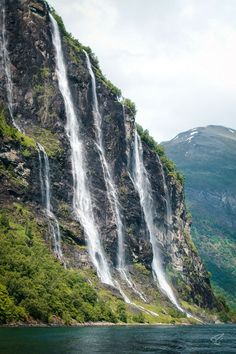 Visiting Norway? Check out the beautiful Geirangerfjord! #norway #europe #travel #geirangerfjord