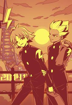 Inazuma Eleven - Fubuki & Goenji