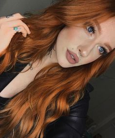 Savannah Rachelle || copper hair
