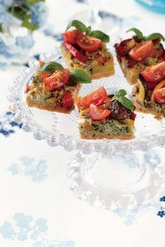 Pesto-vihannespiirakka | K-ruoka