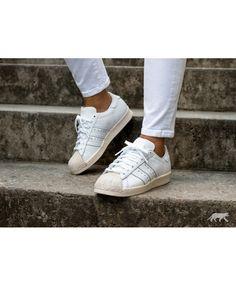 81455d585bb Adidas Originals Superstar 80s W Cork Ftwr White Shoes Adidas Gazelle,  Adidas Superstar, White