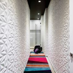 A design team spots potential for a welcoming home with bright open spaces highlighting the sweeping surroundings in Brickell, Florida. Arte Wallcovering, Rug Company, Pent House, Interior S, Organising, Contemporary Decor, Paul Smith, Hallways, Interiores Design
