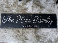Hey, I found this really awesome Etsy listing at https://www.etsy.com/listing/183528858/personalized-family-name-sign