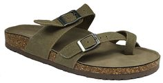 Madden Girl Womens Bryceee Sandals (8.5M, Taupe Fabric)