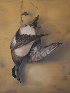 fly fishing art, wildlife art, and sporting fine art paintings and prints by CBStewart Hunting Art, Duck Hunting, Watercolor Paper Texture, Dead Fish, Fish Art, Wildlife Art, Birds, Drawings, Artist
