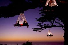 Hanging tents: Pfronten, Germany